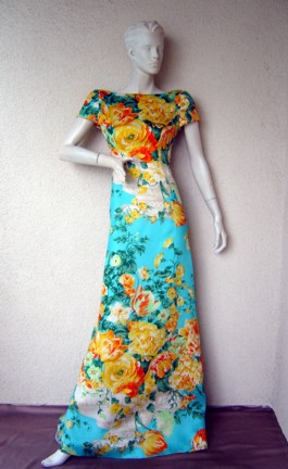 Carolyn Herrera gown :  vintage wear dress